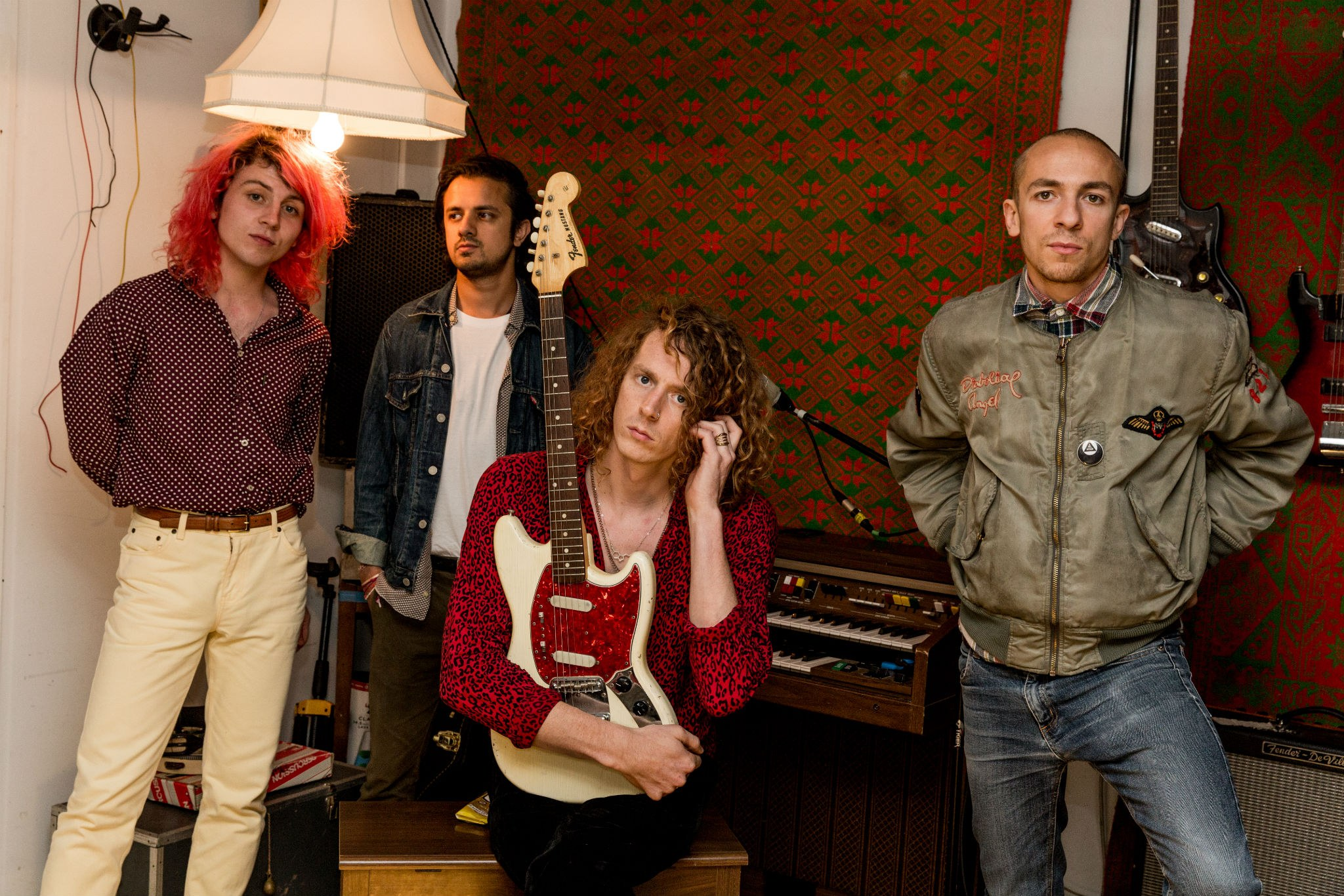 """Mystery Jets: """"We decided we wanted to make this really bold record"""""""