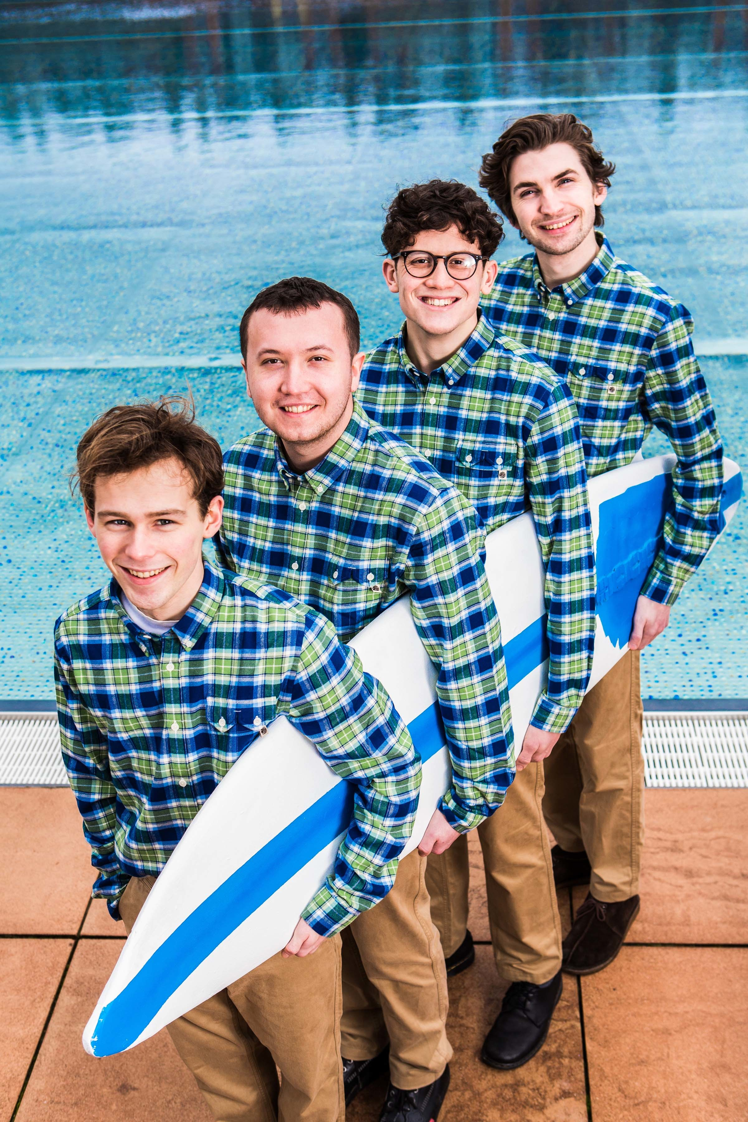 Surf's up: it's The Magic Gang!