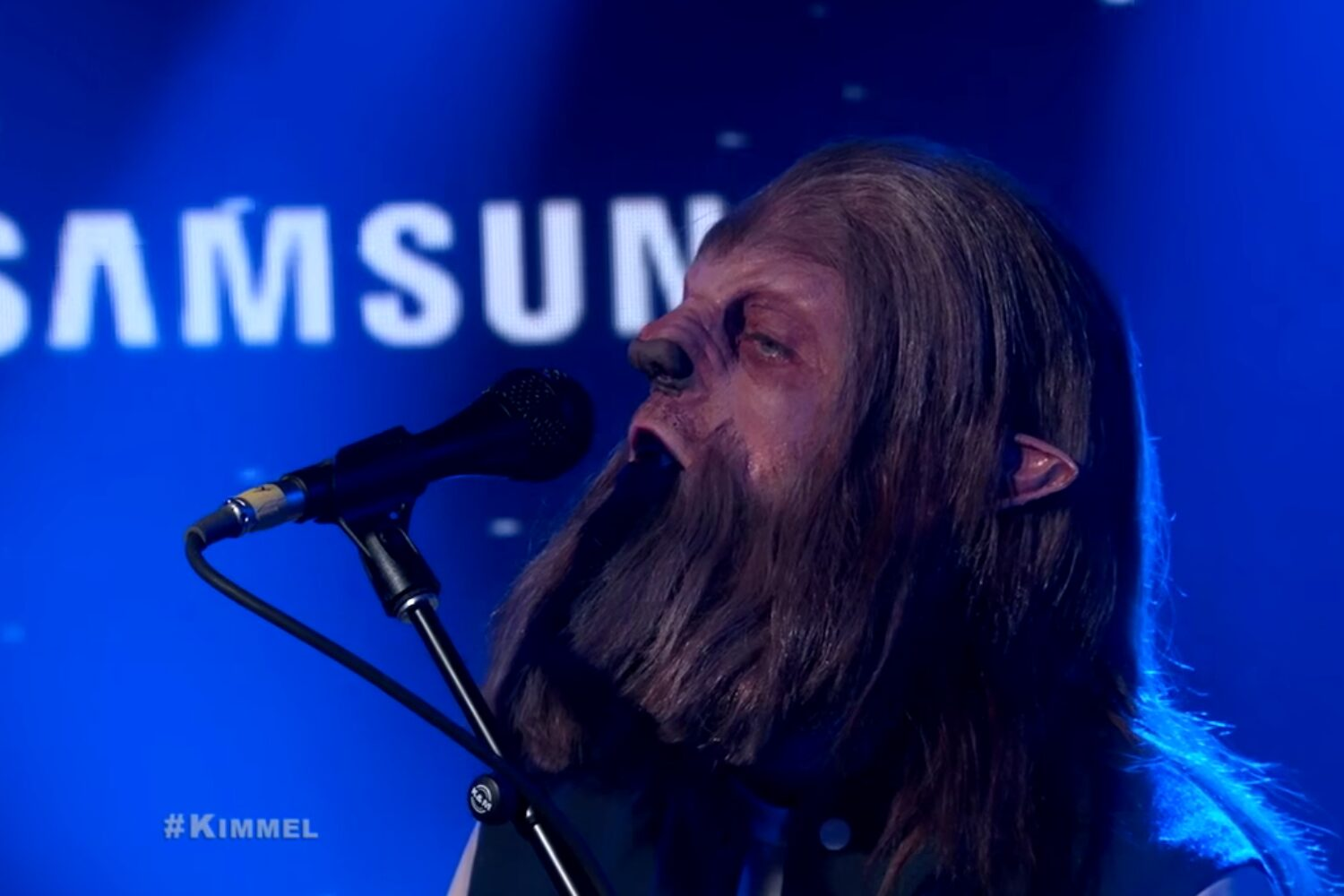 M83 brings 'Junk' to the telly on Kimmel
