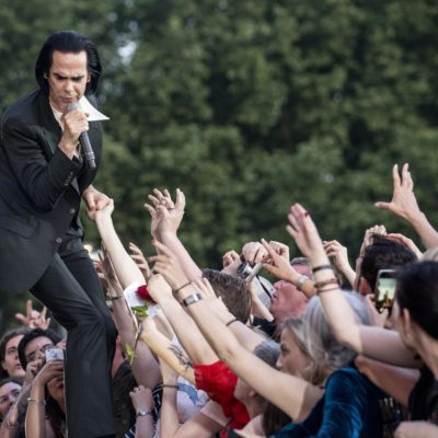 Nick Cave and the Bad Seeds close All Points East with a deeply powerful, hypnotic finale (with added Kylie!)