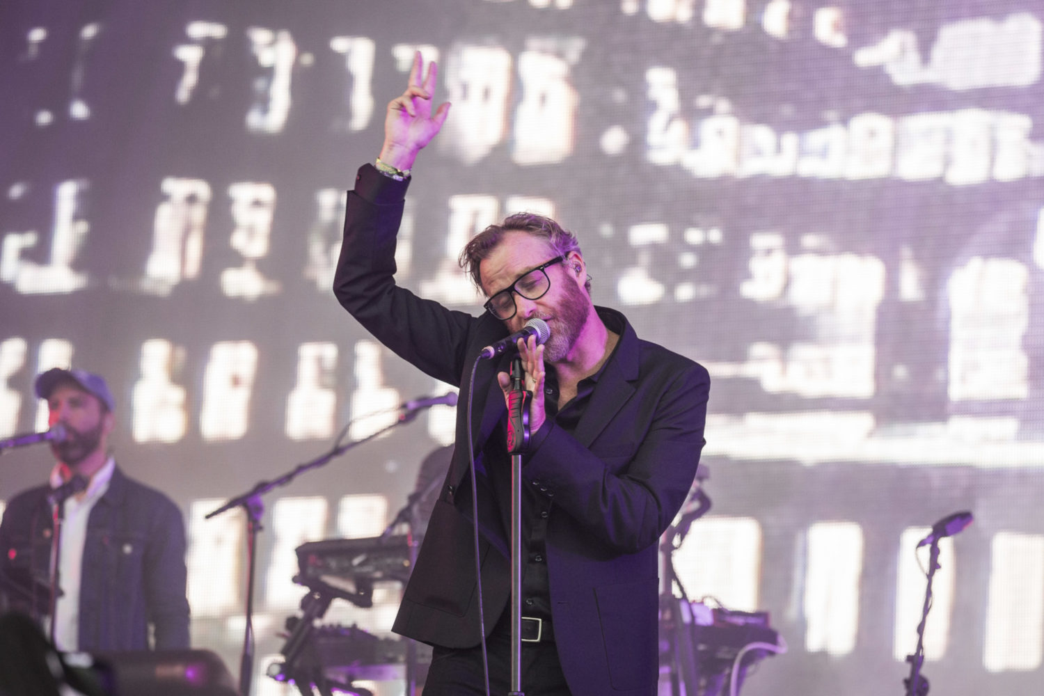 The National are angry and vicious on Glastonbury's Pyramid Stage