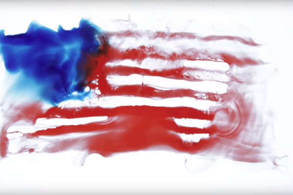 Ought get animated in the video for 'Disgraced in America'