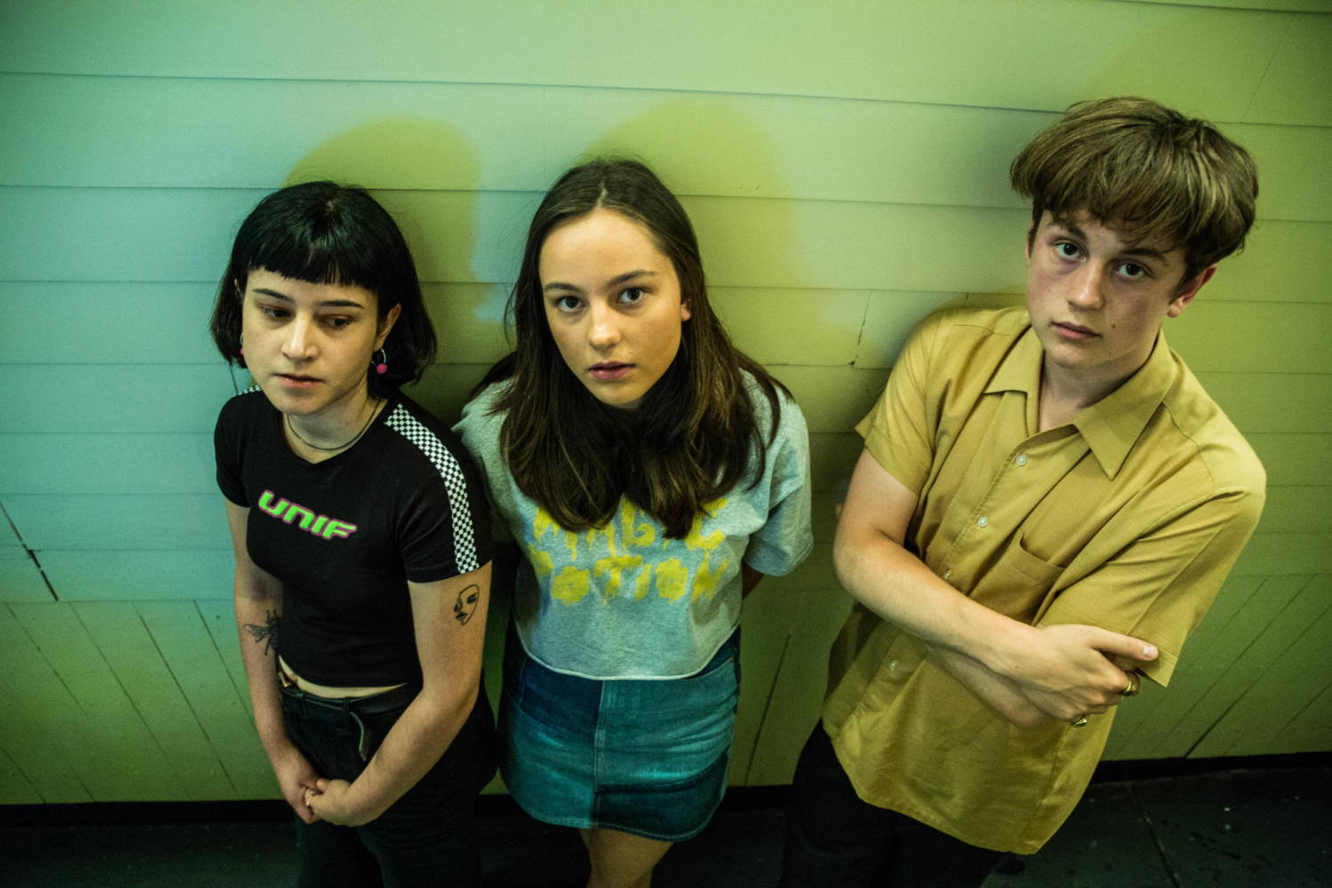 The Orielles & Get Cape. Wear Cape. Fly to play Live at Leeds 2018