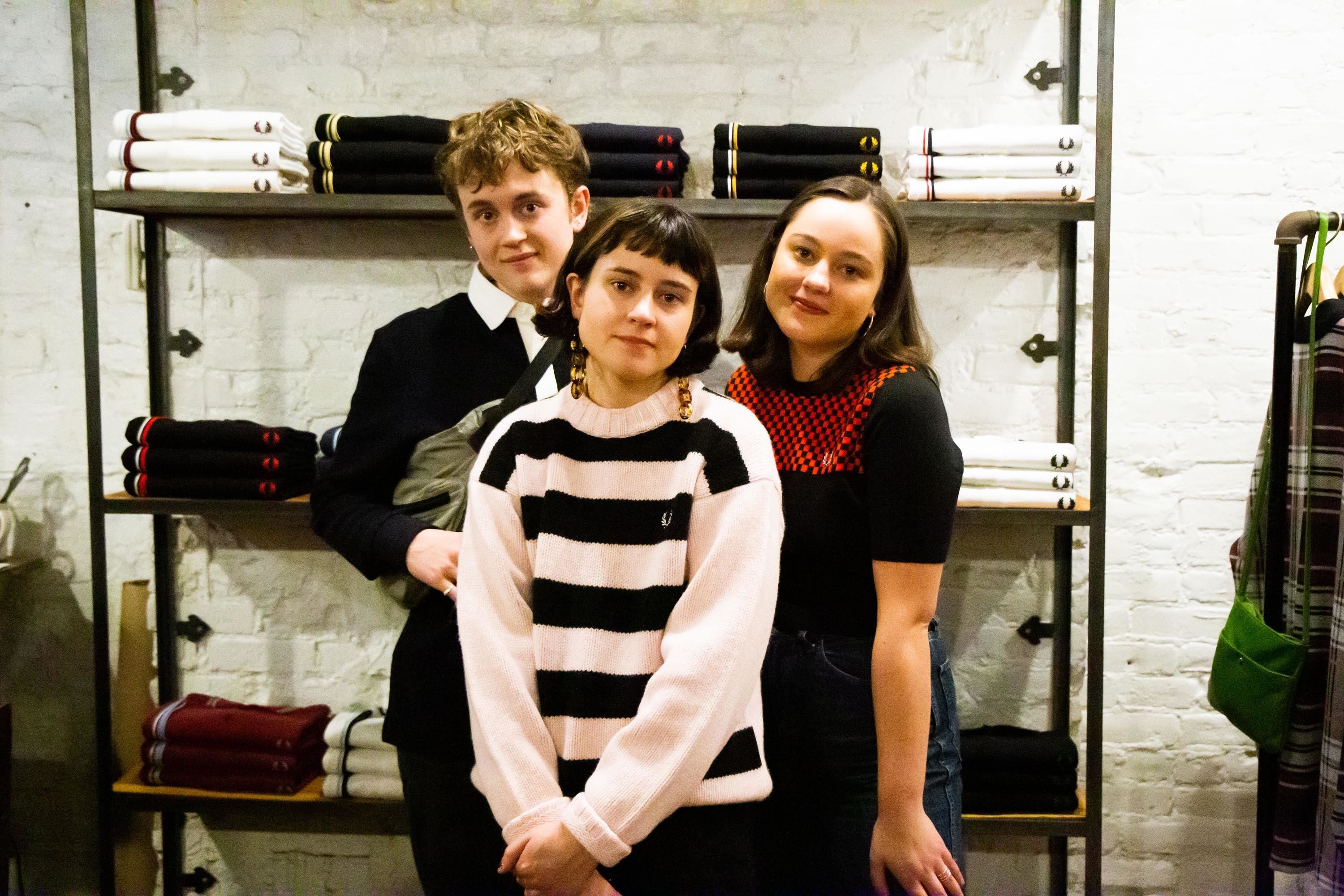 John Eatherly and The Orielles strip it back at DIY x Fred Perry's New York in-store shows