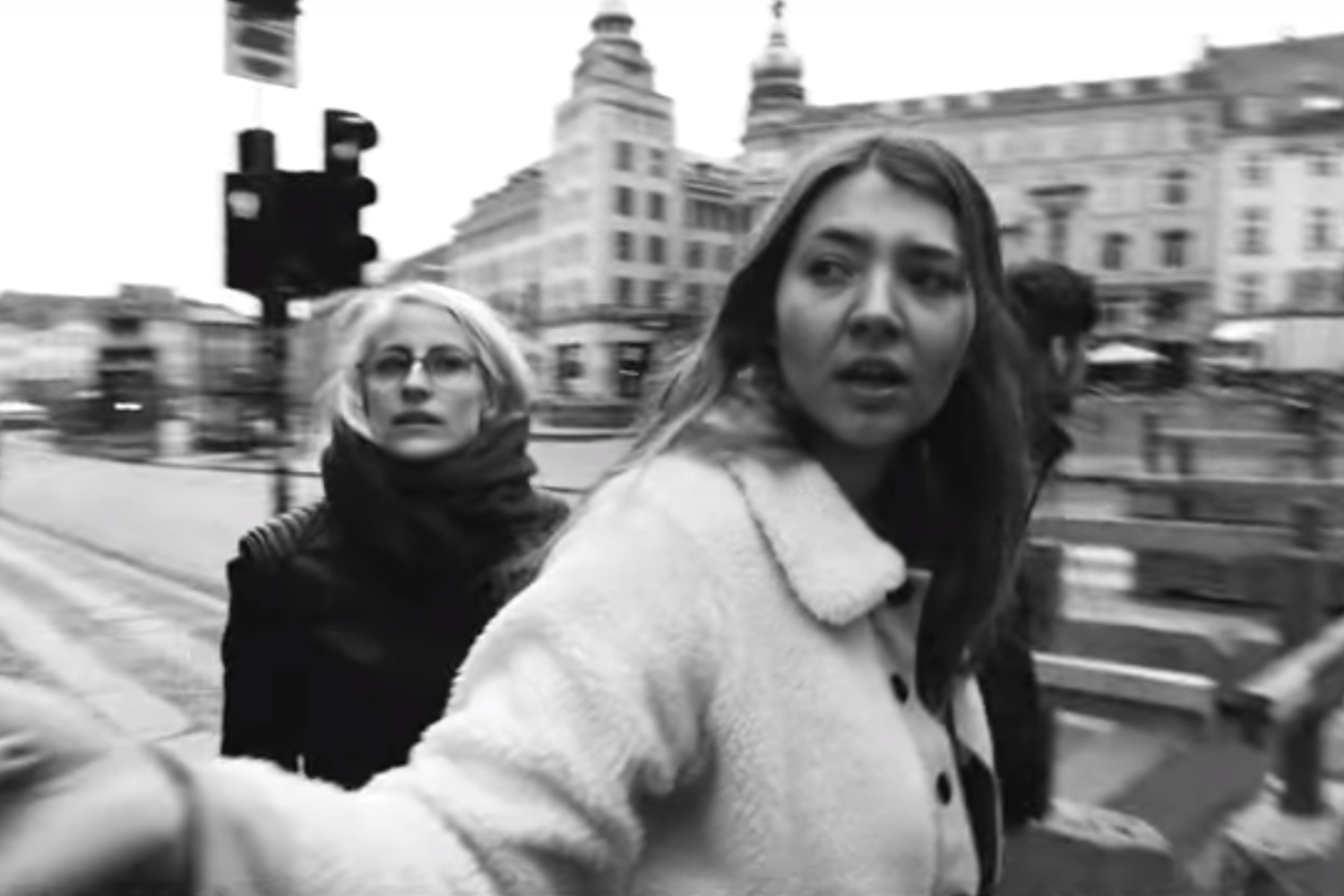 Pale Honey hit the road in the video for 'Get These Things Out Of My Head'