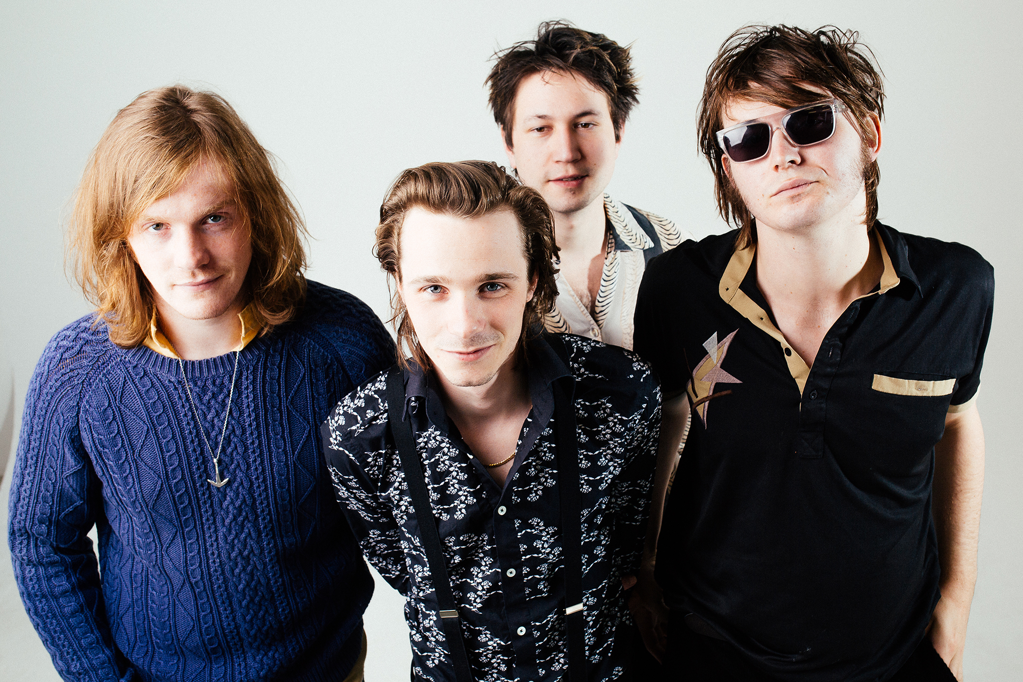 """Palma Violets: """"There's no producer in the world who could ever make us sound professional"""""""