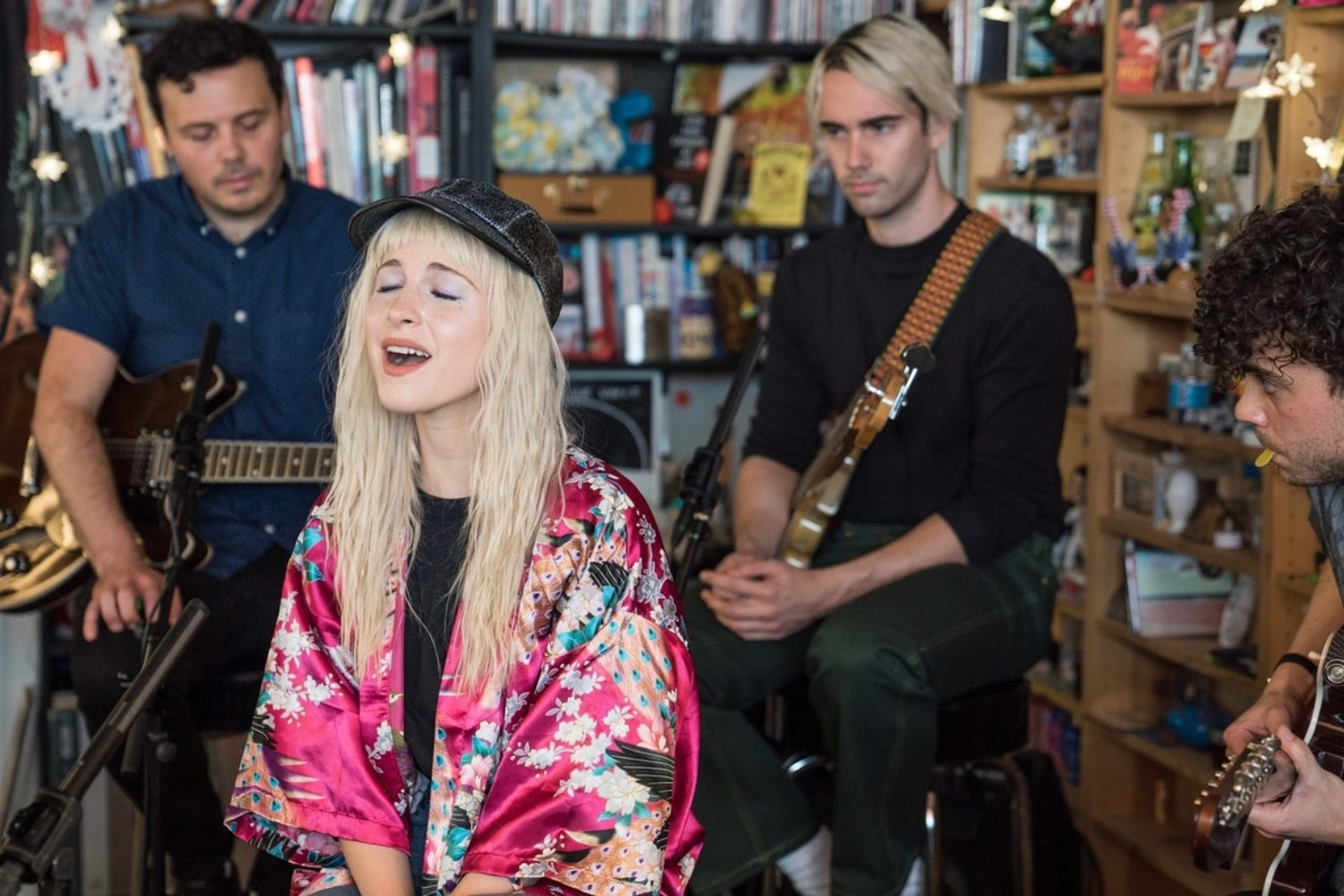 Watch Paramore bring 'After Laughter' to an NPR Tiny Desk Concert
