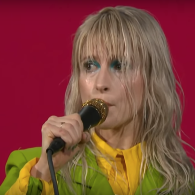 Watch Paramore bring 'Rose Colored Boy' to Colbert