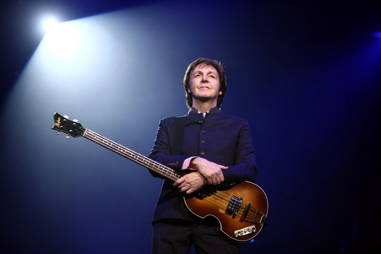Paul McCartney hints at Glastonbury slot