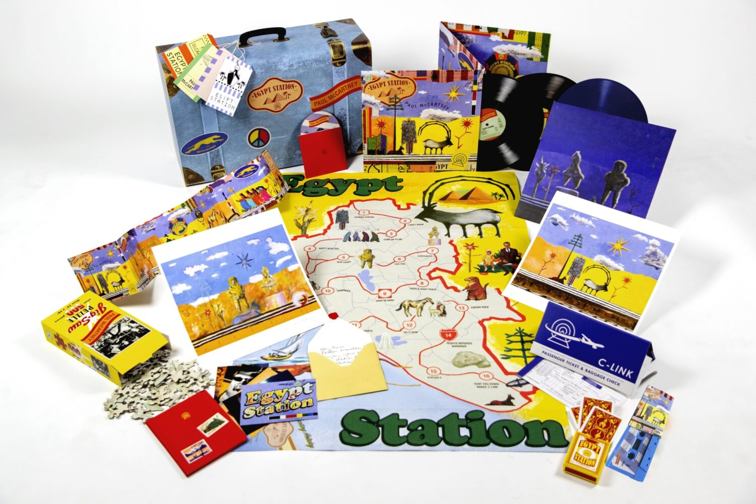 Paul McCartney to release 'traveller's edition' of 'Egypt Station'