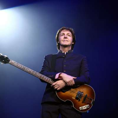 Paul McCartney hints at Glastonbury slot