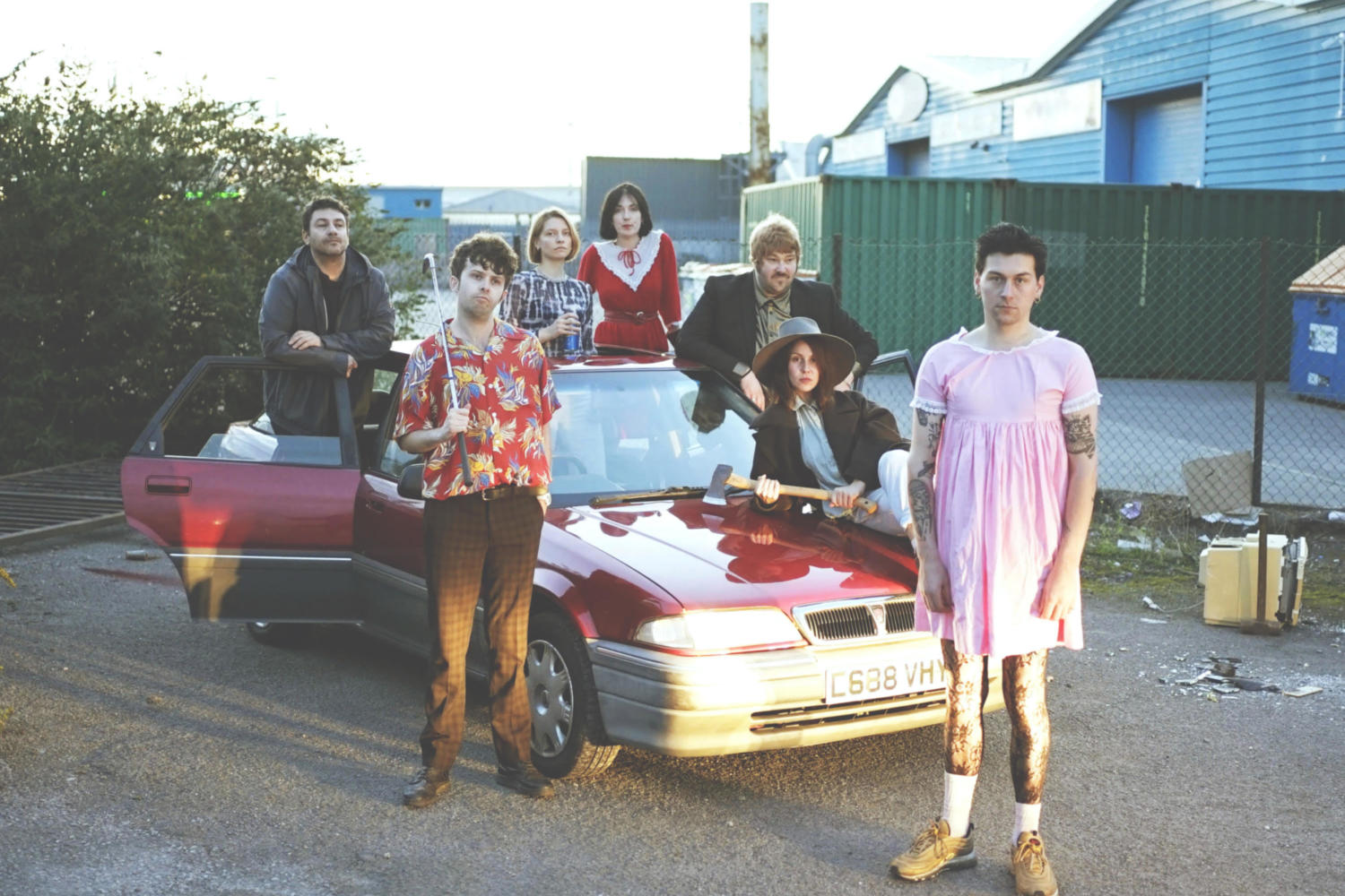Pet Shimmers release two new songs 'Snake Eats a Lady' and 'Live-In Atrocity'
