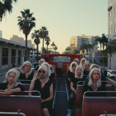 Lots of Phoebe Bridgers' roam around town in her 'Scott Street' video