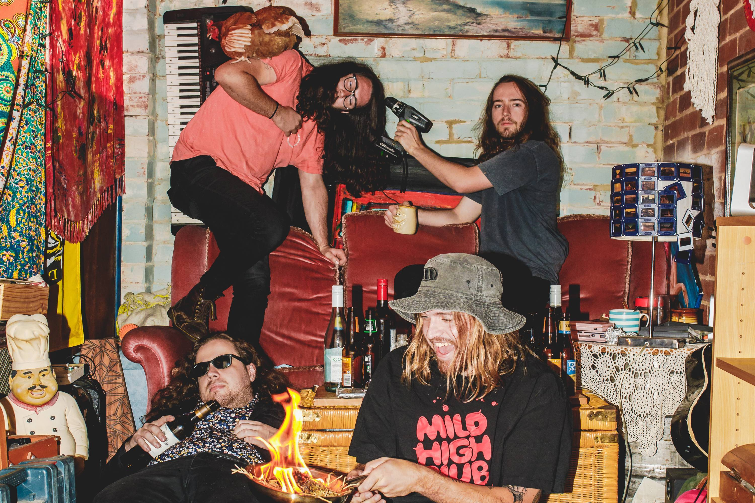 Psychedelic Porn Crumpets announce new album 'And Now For The Whatchamacallit'