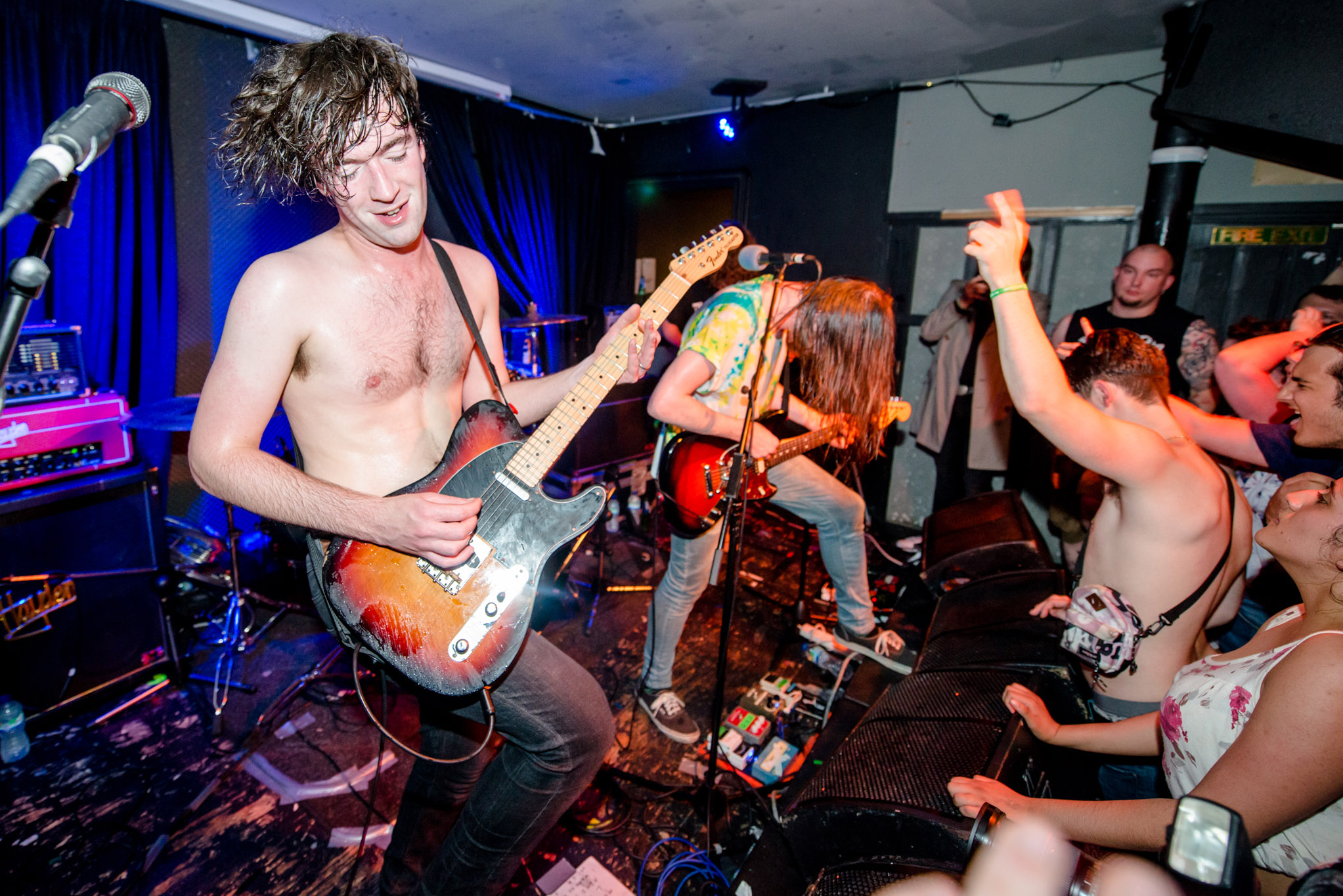 Pulled Apart By Horses show off new material at tiny Camden gig