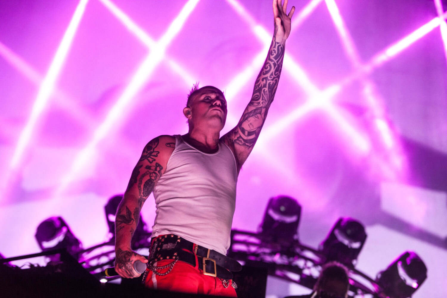 A campaign has launched to get The Prodigy's 'Firestarter' to number one