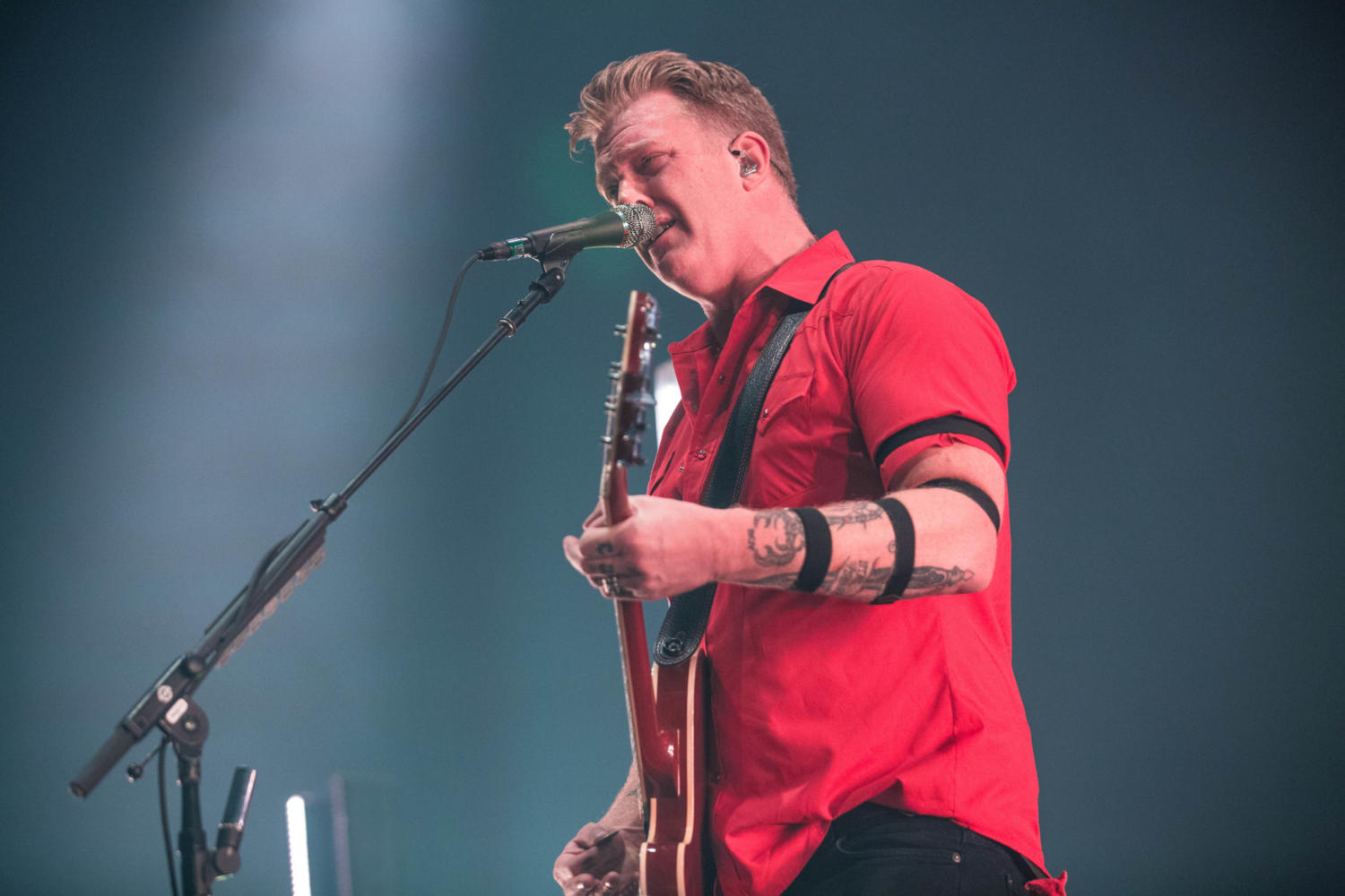 Queens of the Stone Age's Josh Homme releases a cover of 'Silent Night'