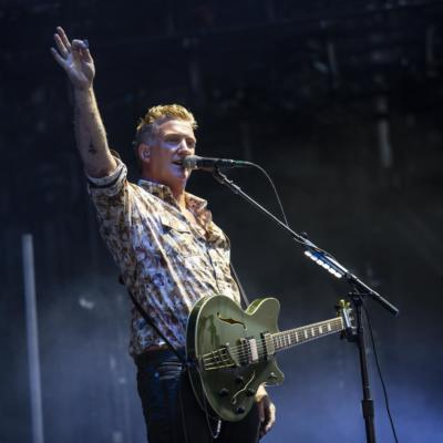 Queens of the Stone Age rally against the authorities and Nine Inch Nails get down and dirty on the final day of Mad Cool Festival