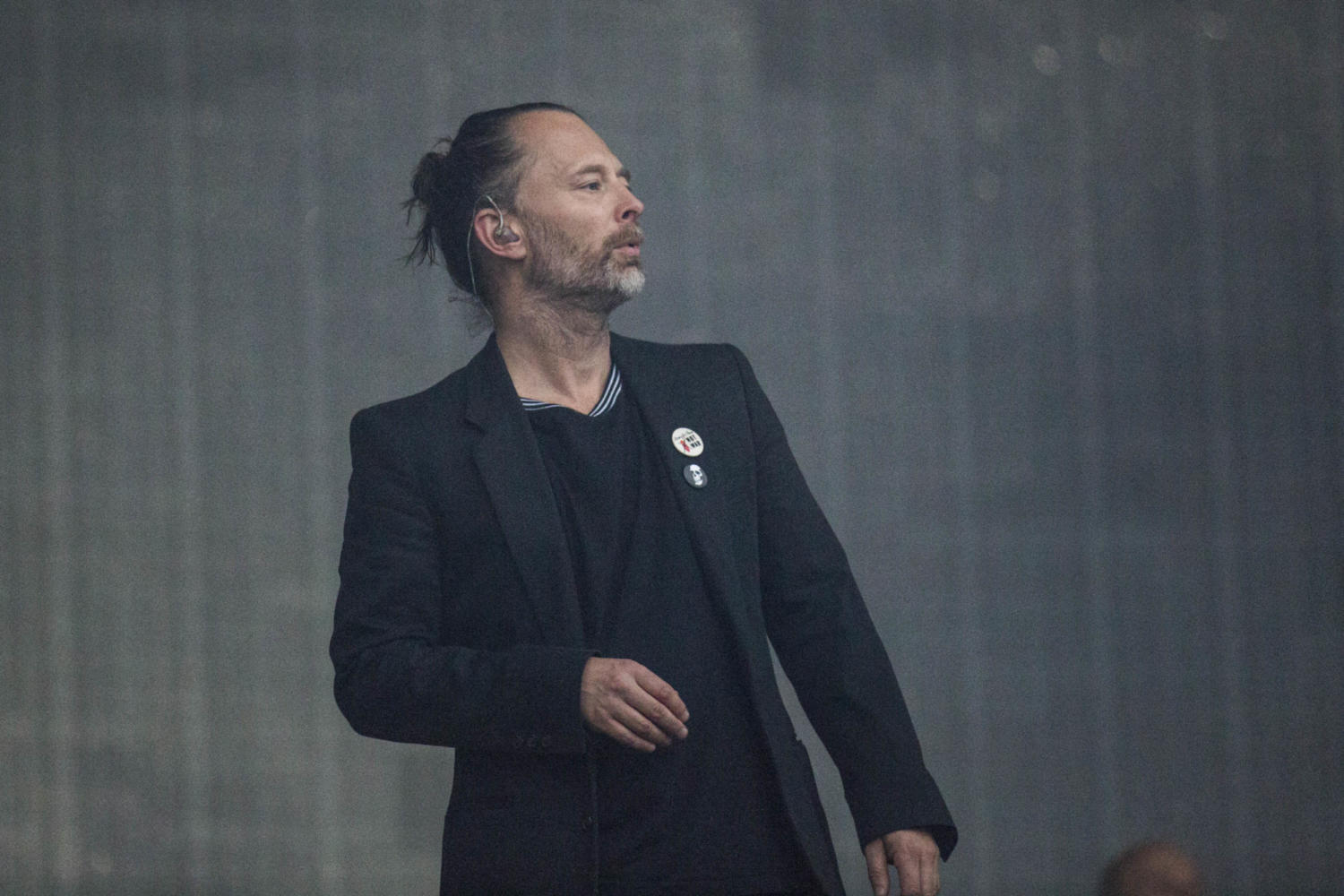 Watch Thom Yorke debut new song 'Gawpers'