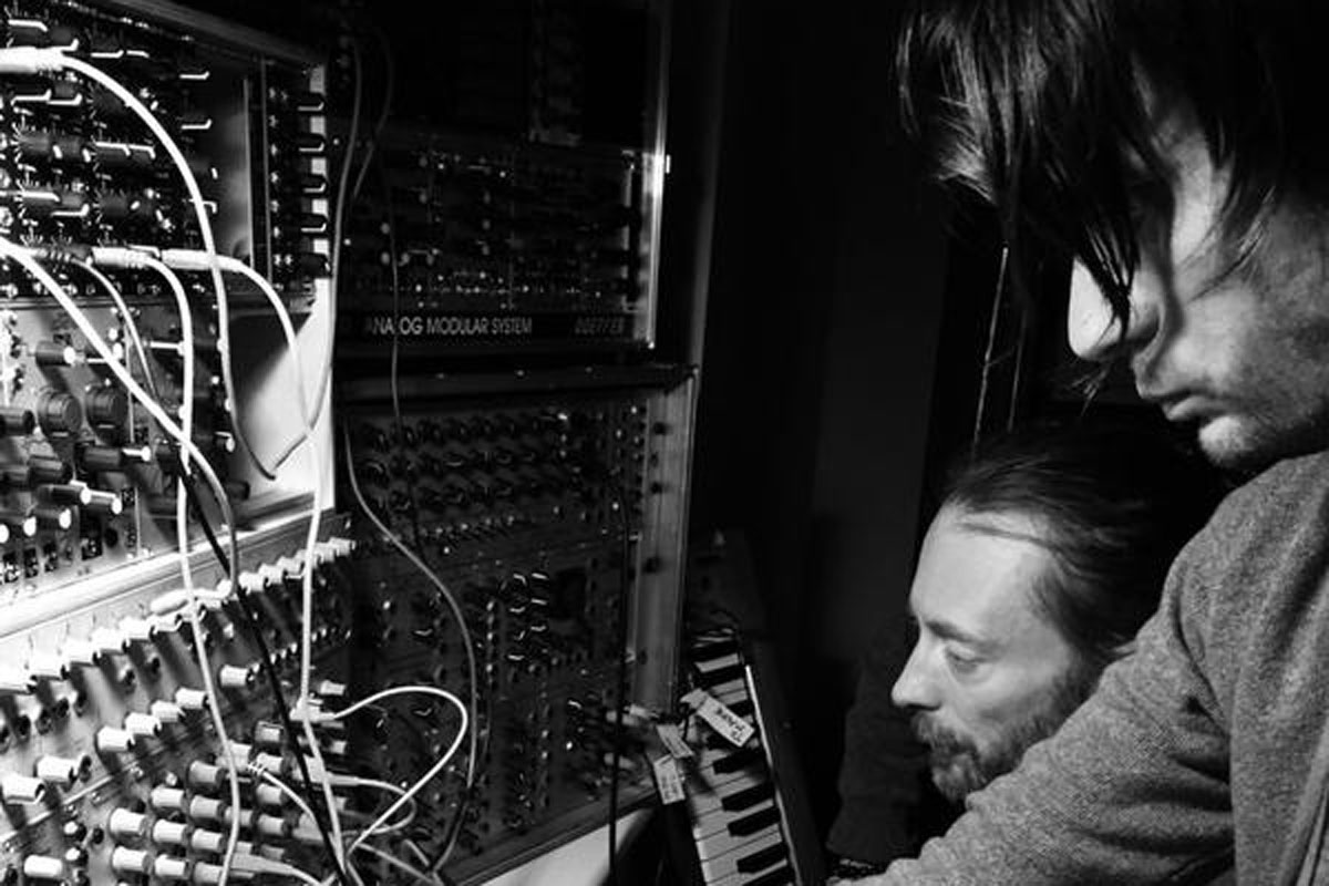 Radiohead post first photo from new studio sessions