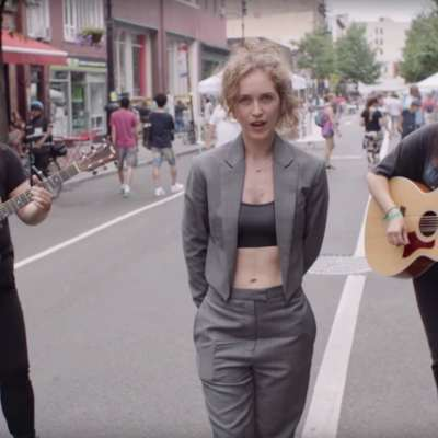 Rae Morris is a risk-taker in the video for 'Do It'