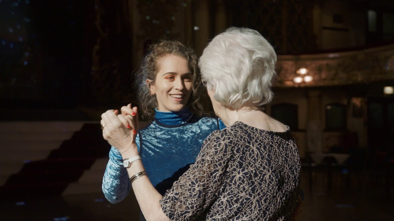 Rae Morris hits the ballroom in 'Dancing With Character' video
