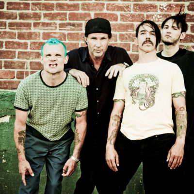 Red Hot Chili Peppers working with Nigel Godrich