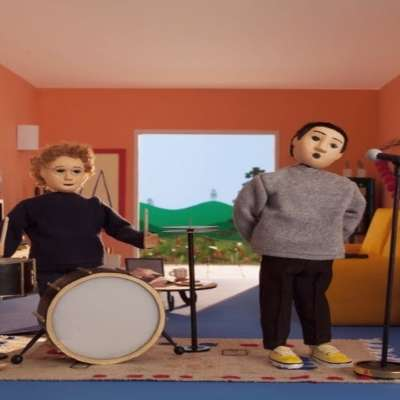 Rex Orange County gets animated in the video for 'Loving Is Easy'
