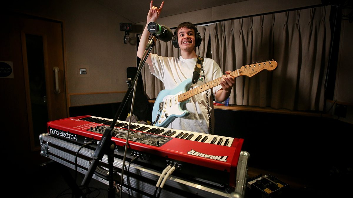Listen back to Rex Orange County's session with Huw Stephens