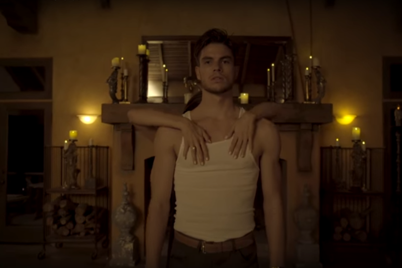 Rhye dance on in the video for 'Taste'