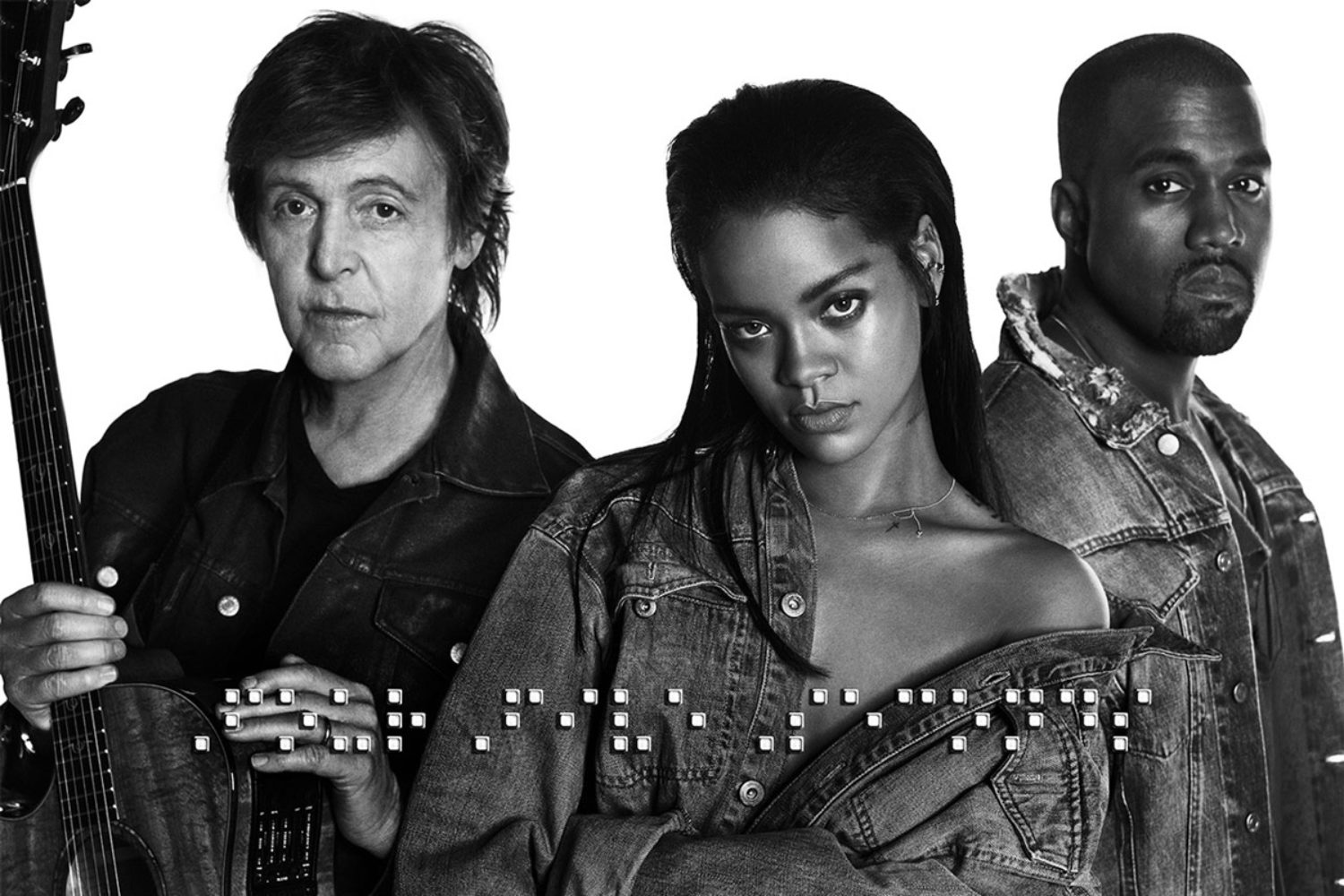 Rihanna, Kanye West and Paul McCartney release new track, 'FourFiveSeconds'