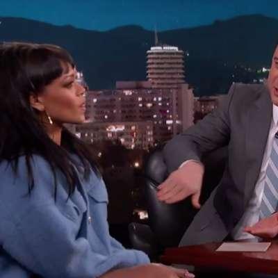 Watch Rihanna prank Jimmy Kimmel with 'Bitch Better Have My Money'