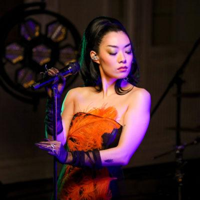 Rina Sawayama performs 'XS' at Abbey Road