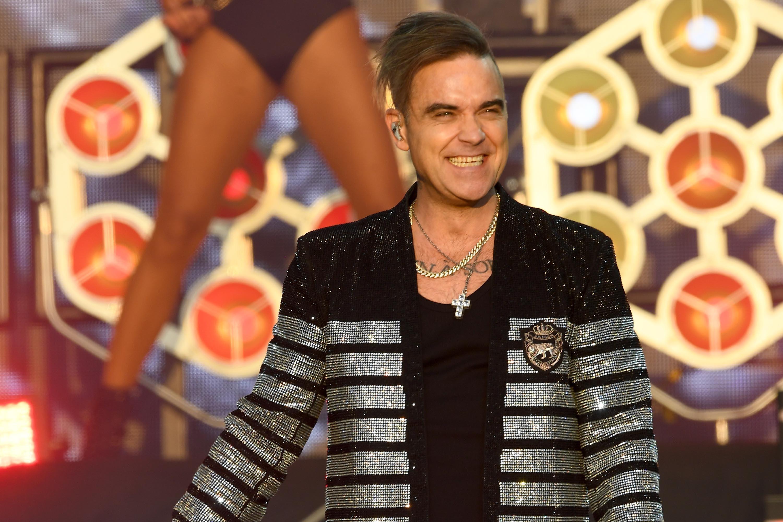 Robbie Williams, BST Hyde Park, London