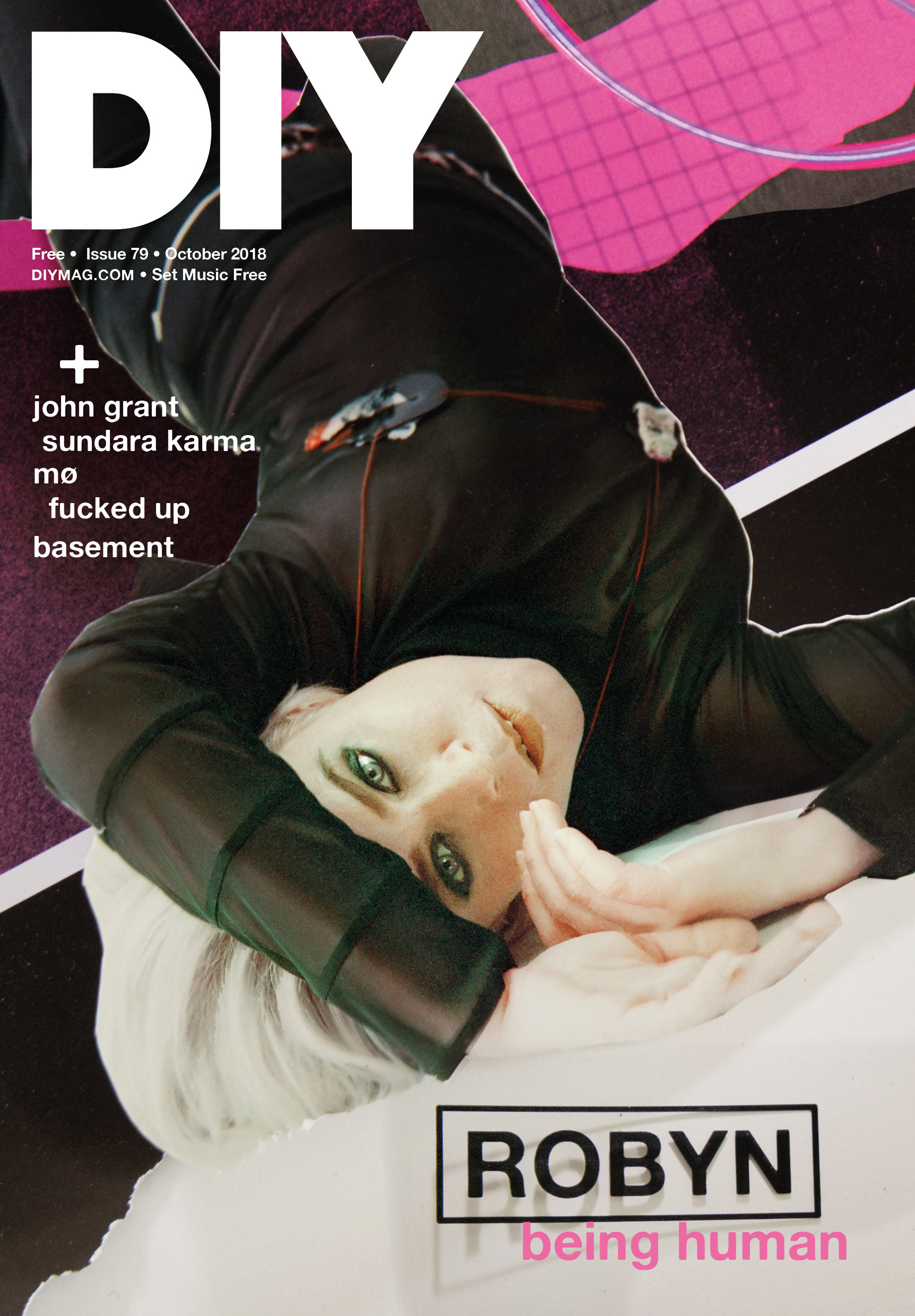 Robyn covers the October issue of DIY, out this Friday