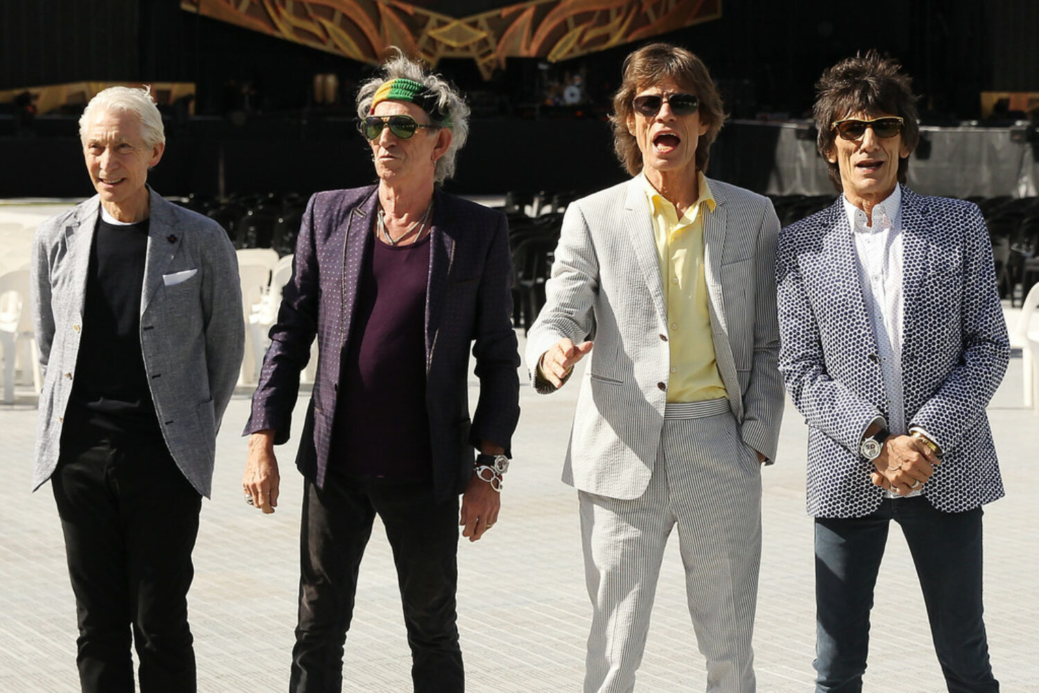 The Rolling Stones share 'Scarlet' video