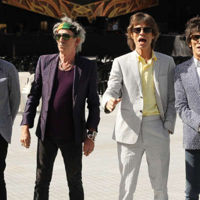 The Rolling Stones release previously unheard track 'Scarlet'