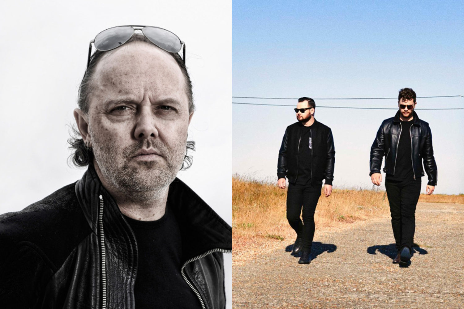 Watch Metallica's Lars Ulrich join Royal Blood onstage