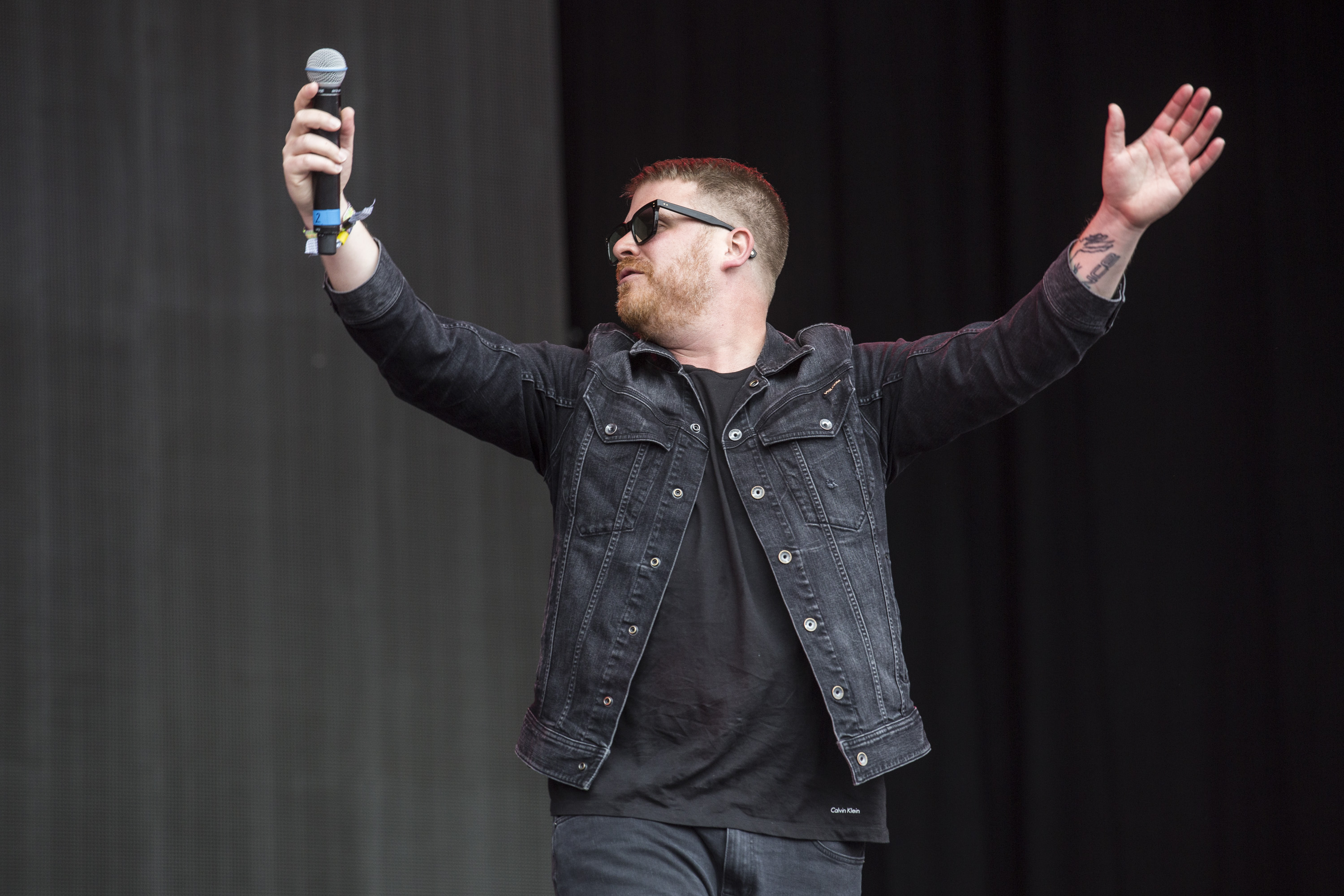 Run the Jewels stand up for the masses on the Pyramid Stage