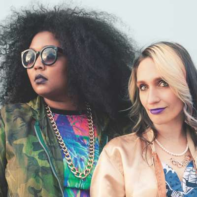 Speedy Ortiz's Sadie Dupuis (Sad13) and Lizzo release 'Basement Queens'