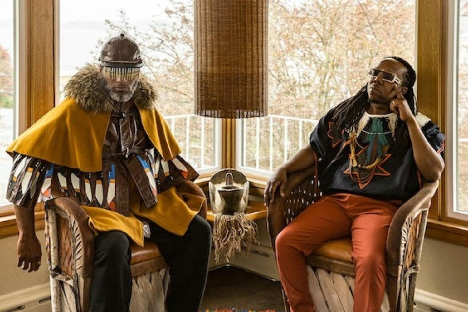 Shabazz Palaces get glitchy in the video for 'Welcome To Quazarz'