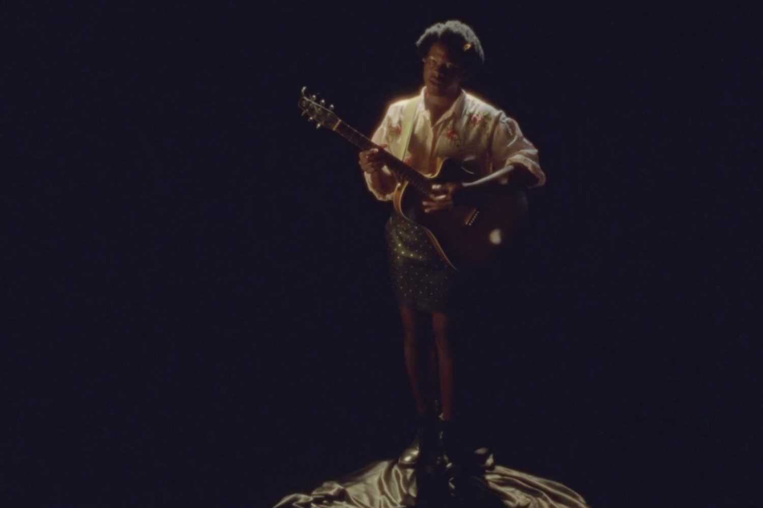 Shamir shares 'Larry Clark' video