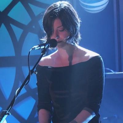 Watch Sharon Van Etten perform 'Break Me' on Kimmel