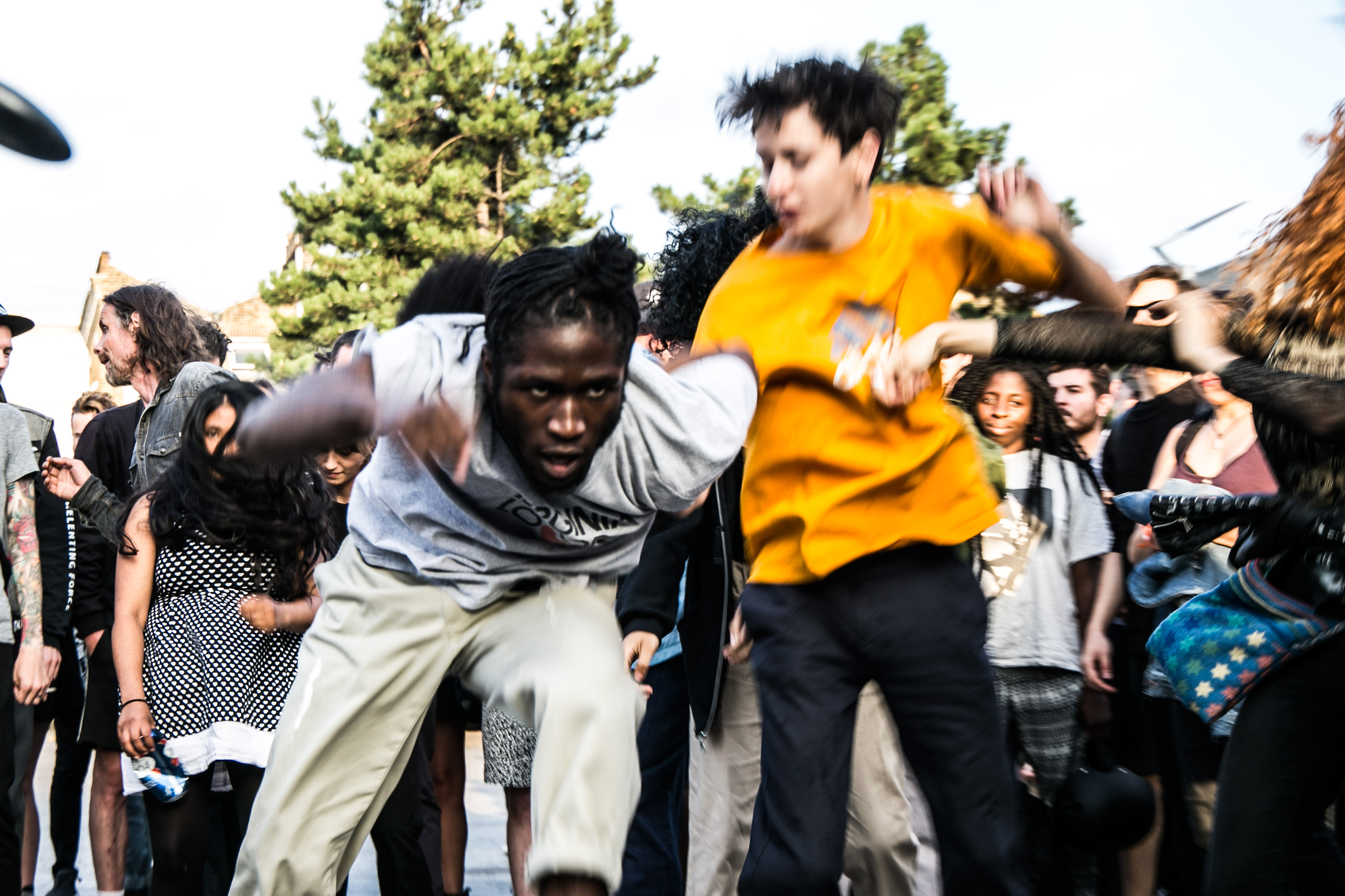 Show Me The Body bring 'Body War' to a pop-up show in London's Gillett Square