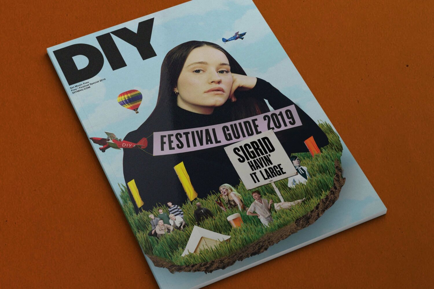 Introducing the DIY Festival Guide 2019, featuring Sigrid, Bring Me The Horizon, The Hives & more!