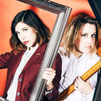Right In The Chaos: Sleater-Kinney are the cover stars of DIY's August issue