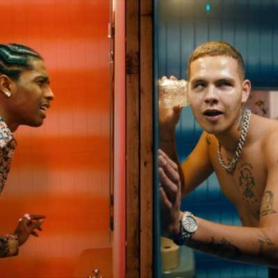 slowthai links up with A$AP Rocky for 'MAZZA' video