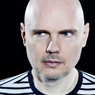 Billy (William) Corgan is having a Halloween party at his tea shop