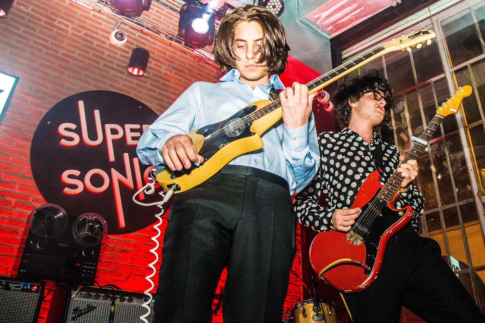 Sons Of Raphael bring unrelenting energy to back-to-back shows in London and Paris