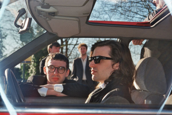 Spector offer up 'Catch You On The Way Back In' video